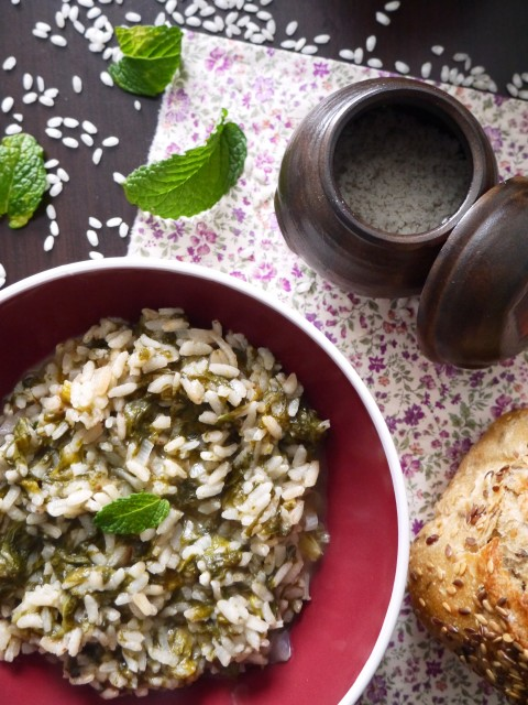 risotto-oseille-menthe-betty