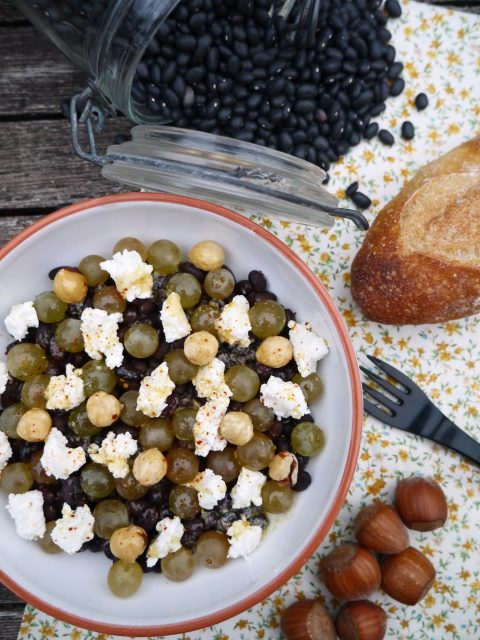 salade-raisin-chevre-haricot-noisette-betty
